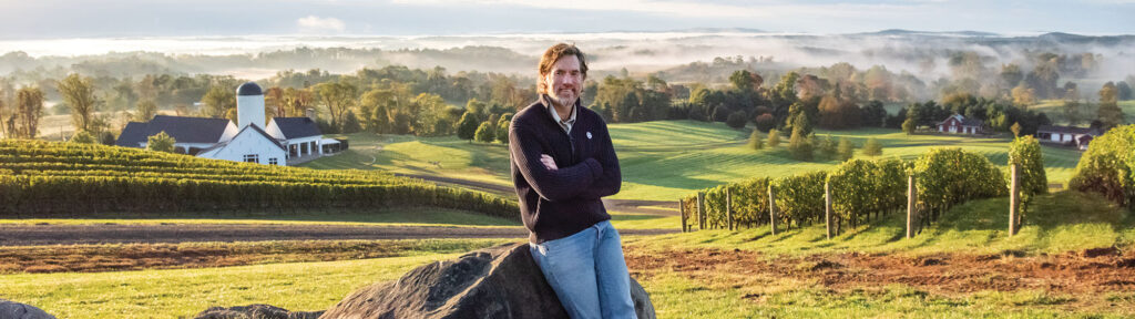 RdV Vineyards, Image by © RL Johnson for Wine & Country Life