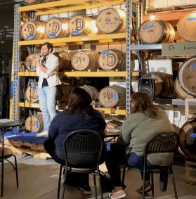 Stand-up comic at Albemarle Ciderworks